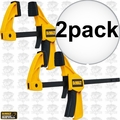"DeWalt DWHT83148 4.5"" Small Trigger Clamps - 2 Pack"