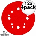"Diablo DCD050040H04G Random Orbital Hook and Lock Sanding Disc 40G 5"" 4pk 12x"