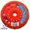 Diablo DCX045040B01F 4-1/2'' 40-Grit Steel Demon Flap Disc with Speed Hub