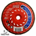 Diablo DCX045080B01F 4-1/2'' 80-Grit Steel Demon Flap Disc with Speed Hub
