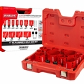 Diablo DHS17SPL 17pc Bi-Metal Plumbing Hole Saw Set