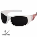 Edge Eyewear HZ146-P2 Caraz Patriot White & American Flag Safety Glasses