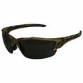 Edge Eyewear SDK116CF-G2 Khor G2 Forest Camo Safety Glasses with Smoke Lens