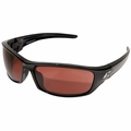 """Edge Eyewear SR115 Reclus Black Safety Glasses with Copper """"Driving"""" Lens"""