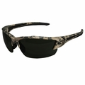 Edge Eyewear TSDK216DCF-G2 Khor Digital Camo Polarized Smoke Safety Glasses