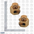 Empire 105 1140 Brass Stair Gauge & Aluminum Framing Square Kit