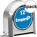 Empire 300-12 12' Chrome Tape Measure 5x