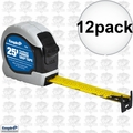 "Empire 7526 1"" x 25' Power Grip Tape Measure 12x"