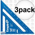 "Empire E2994 7"" Tru Blue Laser Etched Rafter Square 3x"