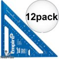 "Empire E2994 7"" Tru Blue Laser Etched Rafter Square 12x"
