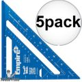 "Empire E2994 7"" Tru Blue Laser Etched Rafter Square 5x"