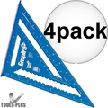 "Empire E3992 12"" Tru Blue High Definition Rafter Square 4x"