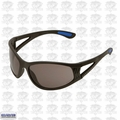 ERB 16671 Safety Glasses Erban Black - Smoke Lens Scratch Resistance