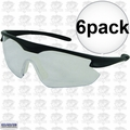 ERB 16700 Point Safety Glasses Clear 6x