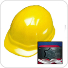 Hard Hat and Helmet