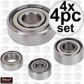 Freud 62-XXX 4pc Assorted Ball Bearings for Router Bits 4x