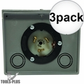 Generac 6338 Generator Power Inlet Box 50 Amp Twistlock Non-Metallic 3x