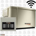 Generac 69981 POWERPACT 7.5/6KW Air-Cooled Standby Generator w/ Steel Enc