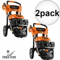 Generac 7143 3100PSI E- Start Power Washer w/Broom+Blaster (50 State/CSA) 2x