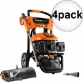 Generac 7143 3100PSI E- Start Power Washer w/Broom+Blaster (50 State/CSA) 4x