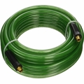 Hitachi 115156 1/4'' x 100' Poly Air Hose w/ Industrial Fittings (Green)