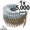 """Hitachi 12211HPT 2-3/8"""" 8D Ring Wire Coil Framing Nails"""