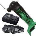 Hitachi CV18DBLP4 18V Brushless Li-Ion Multi-Tool w/2 3.0ah Batts+Charger