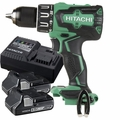 Hitachi DV18DBFL2P4 18V Li-Ion Brushless Hammer Drill w/2 3ah Batts+Charger