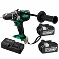 "Hitachi DV18DBL2 18V Brushless Li-Ion 1/2"" Hammer Drill Kit w/ 2 6.0Ah Batts"