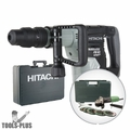 "Hitachi H45MEY SDS Max Brushless Demo Hammer Kit + Free 4-1/2"" Grinder Kit"