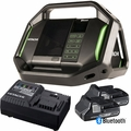 Hitachi UR18DSALP4 Cordless 18V Li-Ion Bluetooth Radio w/2 Batts+Charger