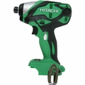 "Hitachi WH18DSDLP4 18V Cordless Lithium-Ion 1/4"" Impact Driver (Tool Only)"