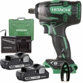 "Hitachi WR18DBDL2 18V Brushless Li-Ion Cordless 1/2"" Impact w/ 2 3.0Ah Batts"