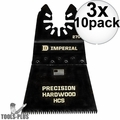 "Imperial Blades IBOA270-10 10pk ONEFIT 2-1/2"" J-Tooth Oscillating Blades 3x"