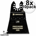 "Imperial Blades IBOA270-10 10pk ONEFIT 2-1/2"" J-Tooth Oscillating Blades 8x"