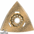 "Imperial Blades IBSL620-1 Starlock 3-1/8"" Triangle Carbide Grit Blade"