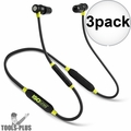 ISOtunes IT-02 Noise-Isolating Bluetooth Earbuds 27db NRR 8 Hour Battery 3x