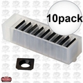 JET 1791212 10pk Cutter Inserts for Shelix Heads