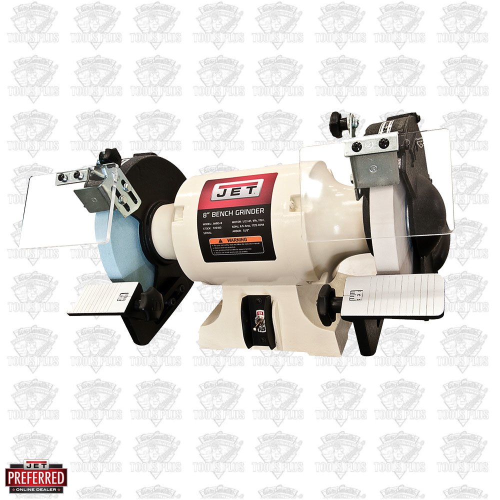 Jet 726100 8 Quot Woodworking Bench Grinder 2 Norton Wheels
