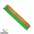 Kraft Tool CC456-01 36 in. Green Nylex Concrete Finishing Wood Broom Head