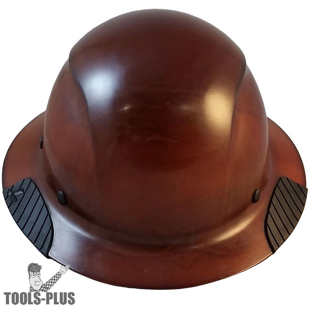 Lift Safety HDF-15NG DAX Full Brim Natural Hard Hat with Ratchet Suspension