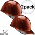 Lift Safety HDFC-17NG DAX Cap Style Natural Hard Hat w/Ratchet Suspension 2x