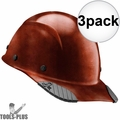 Lift Safety HDFC-17NG DAX Cap Style Natural Hard Hat w/Ratchet Suspension 3x