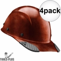 Lift Safety HDFC-17NG DAX Cap Style Natural Hard Hat w/Ratchet Suspension 4x