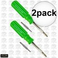 Lutz 6-IN-1 2x Lutz Green Screwdriver