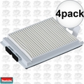 Makita 123636-9 HEPA Filter for XCV05 4x