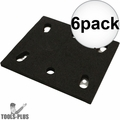 Makita 158324-9 Genuine Makita Replacement Backing Pad for BO4556 6x