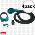 """Makita 197172-1 1-1/8"""" Hex Shank Dust Extraction Attachment 4x"""
