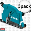 "Makita 198509-5 9"" Dust Extraction Cutting Guard 3x"