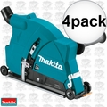 "Makita 198509-5 9"" Dust Extraction Cutting Guard 4x"
